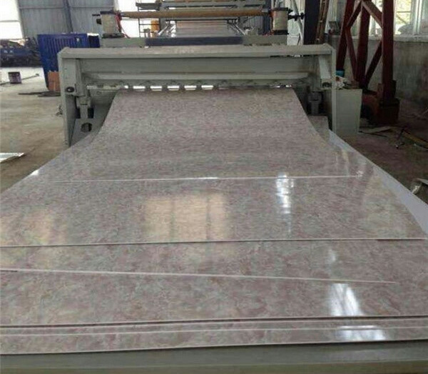 Stone-Plastic Floor PVC Imitation Marble Board Extrusion Line