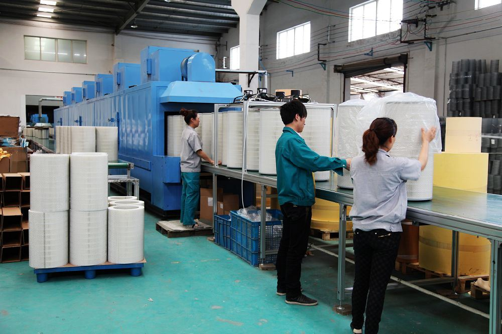 Long Pulse Pleated Air Filter Cartridges for Baghouse Dust Collector