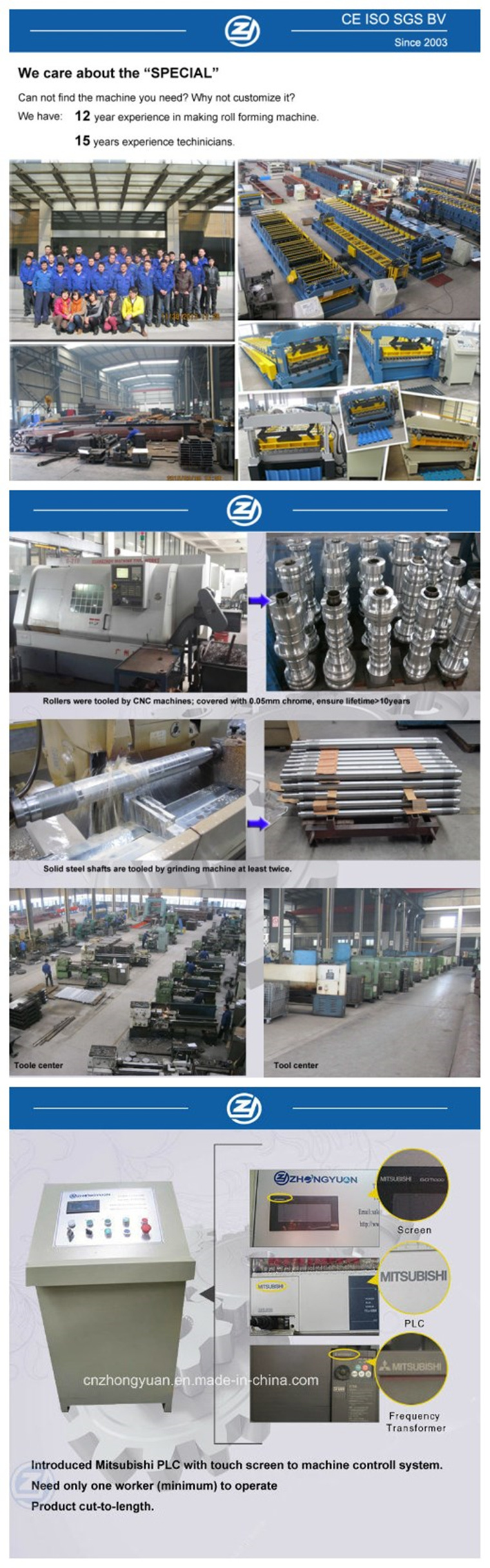 Color Steel Flooring Decking Panel Roll Forming Machine/Metal Sheet Floor Decking Rolling Forming Machinery Line Factory Price with ISO9001/Ce/SGS/Soncap