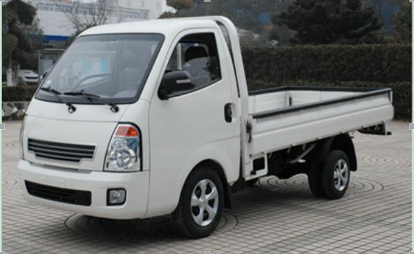 Single Row Cabin 1.2 Tons Electric Small Truck