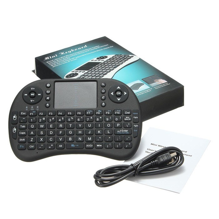 Best Price and Top Selling Rii I8 2.4G Wireless Mini Keyboardair Mouse Game Keyboard