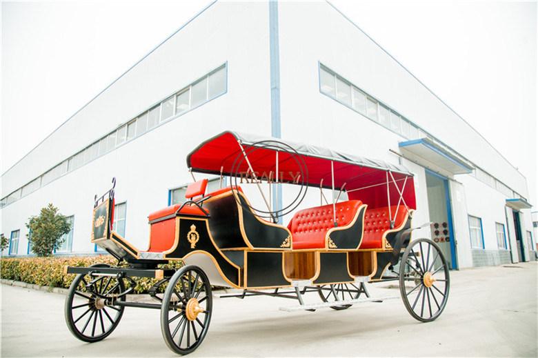 China Horse Carriage Pumpkin