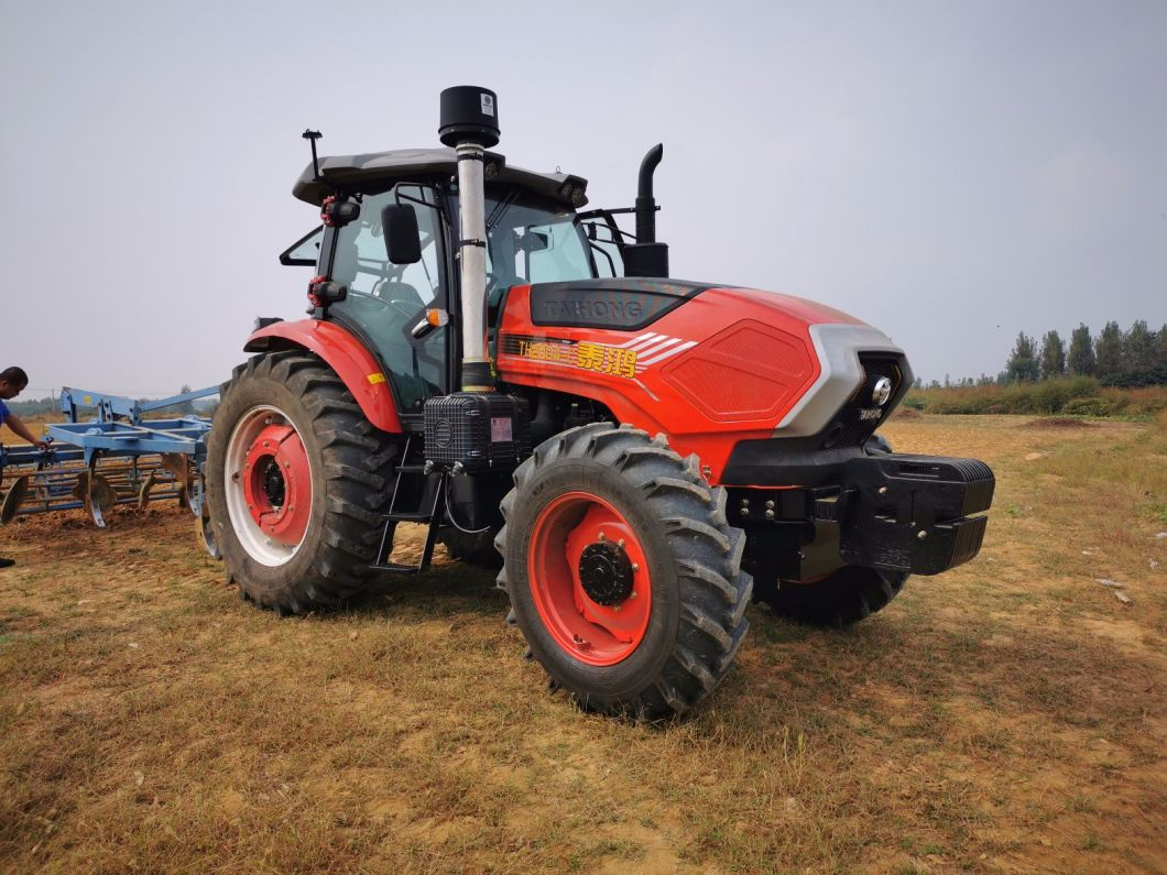 China Four Wheel Drive 90HP 4WD Compact Tractors