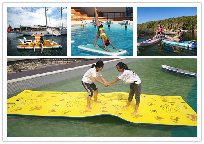 Floating Pool for Yacht, Swimming Pool Inflatable, Anti Jellyfish Inflatable Pool with Net