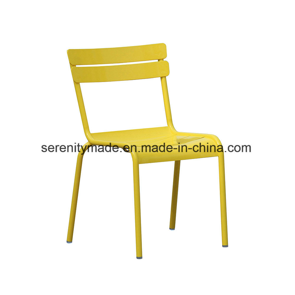 Wondrous China Outdoor Furniture Powder Coated Aluminum Stacking Cafe Dining Chairs Lamtechconsult Wood Chair Design Ideas Lamtechconsultcom