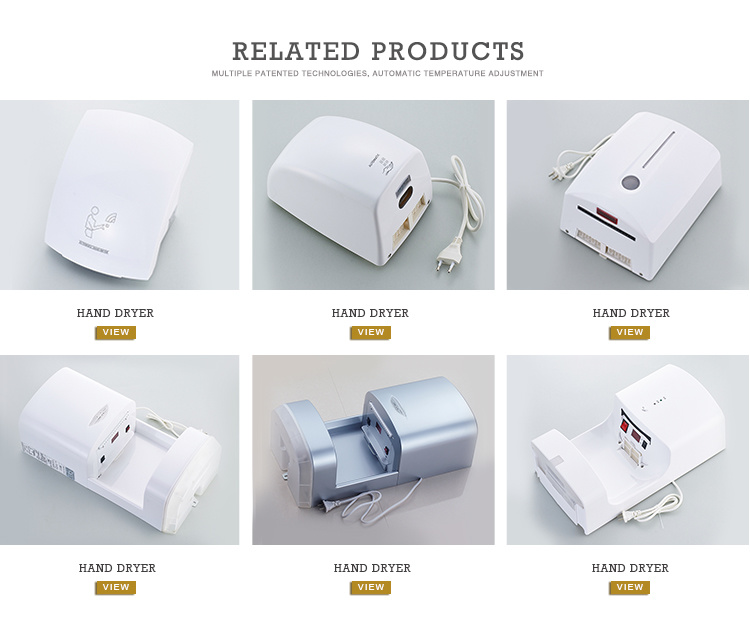 Wholesale 1200W High Speed Automatic Hand Dryer for Commercial