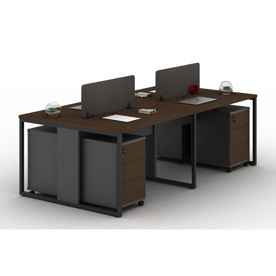 China Rugged Design MFC Desktop 36 Seat Desk Office Partition