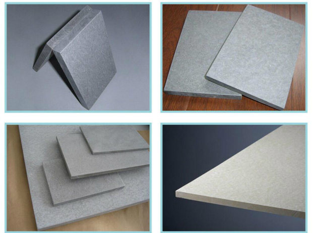China Fcb Fire Rated Fiber Cement Board Grey Color 100 Non