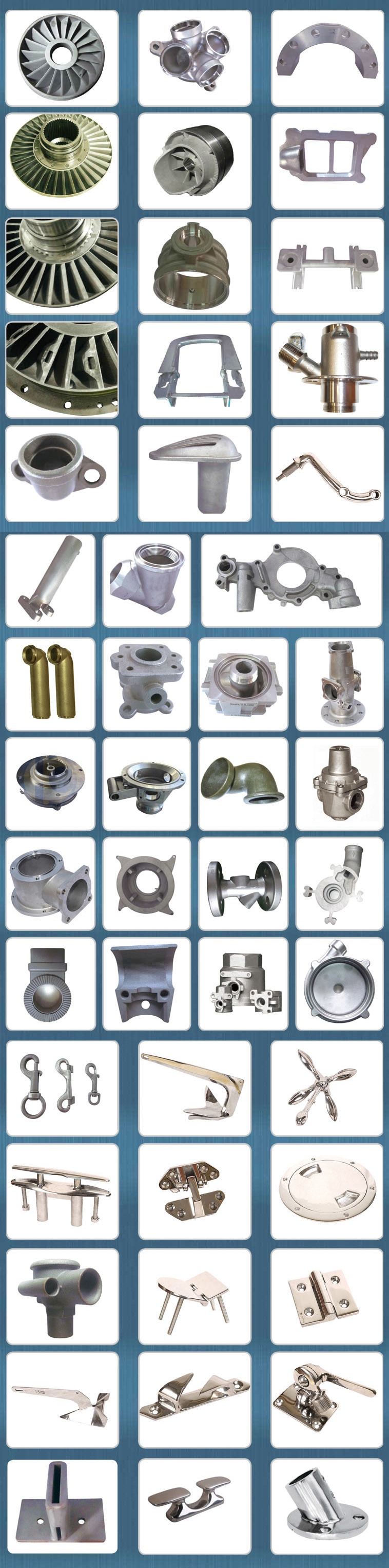 Investment Casting Steel Casting Part