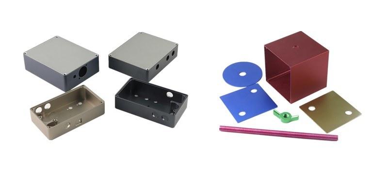 Printer Accessories Anodized Glass Sand Blast Aluminum Parts
