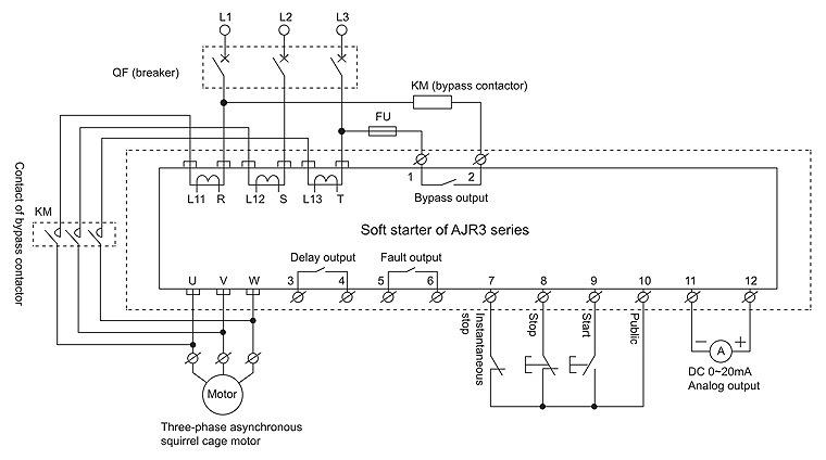 China 22kw Ac380v 50hz Intelligent Motor Soft Starter