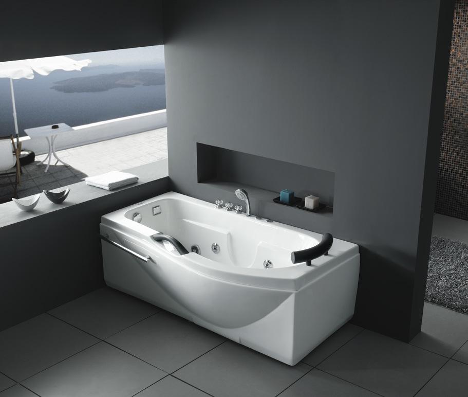 Bồn tắm massage trong nhà trong phòng tắm (M-8108)