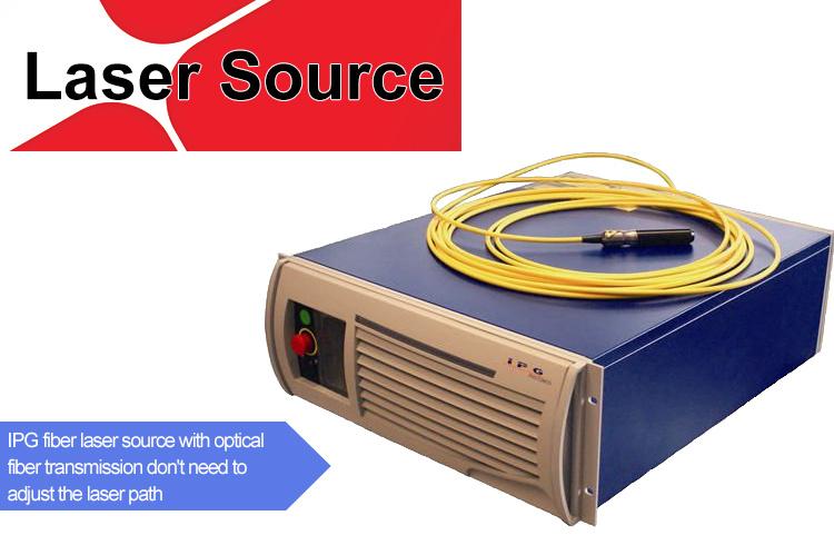 Fiber Laser 1500W Metal Laser Cutting Machine Water Cooling