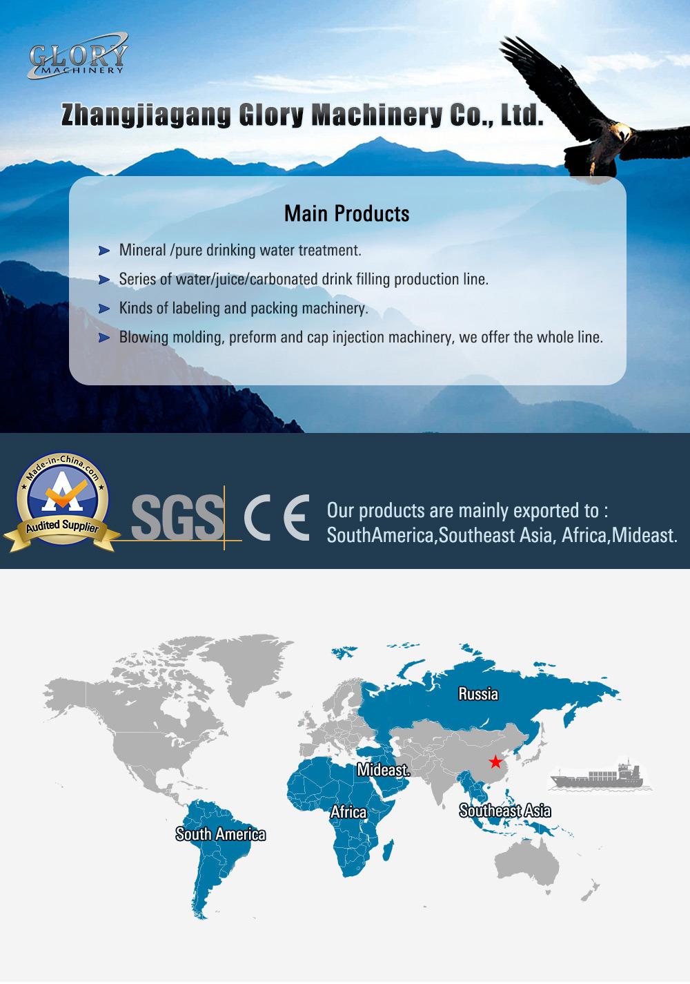 China Best Service Drinking Distilled Water Machine - China
