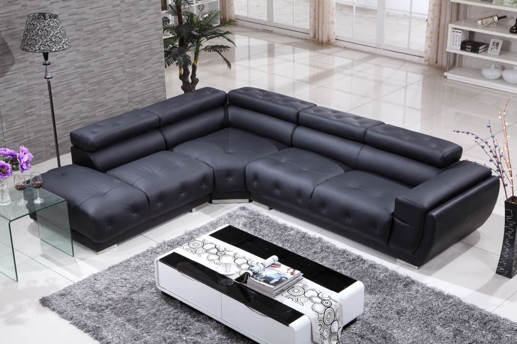 Real Leather Corner Sofa Bed - mindonmath
