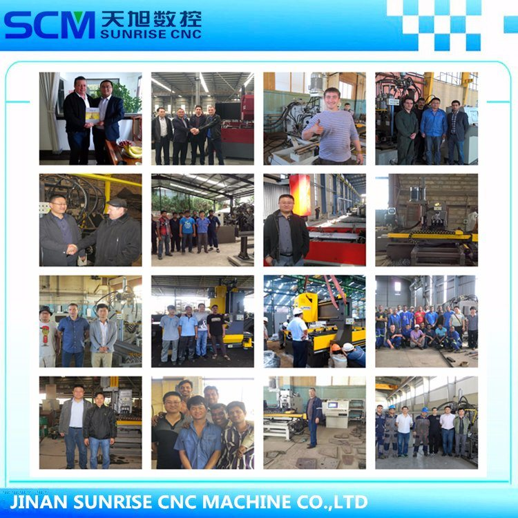 Berkualiti tinggi CNC Mesin Penggerudi Mesin Bit untuk Plat Keluli Karbon