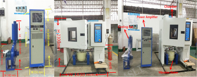 Temperature & Humidity Vibration Combined Climatic Testing System