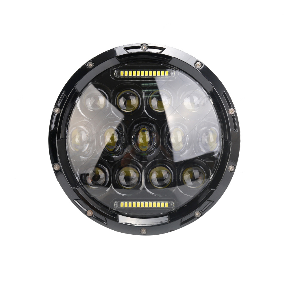 Round 30W 9d Lens LED Driving Hi-Lo Beam Work Light with DRL IP69K