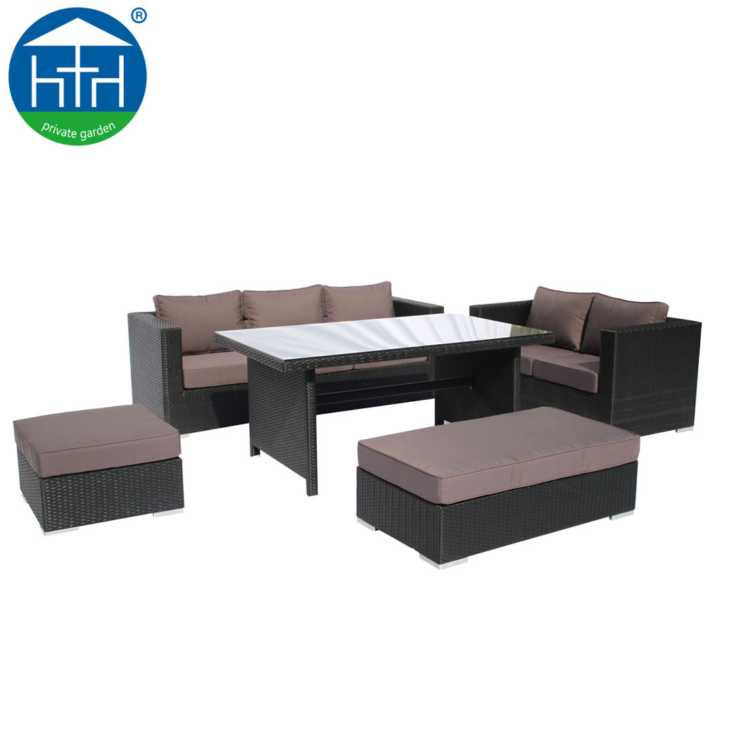 China Best Sellers Patio Leisure Rattan Outdoor Sofa Set Wicker Furniture  Garden Set