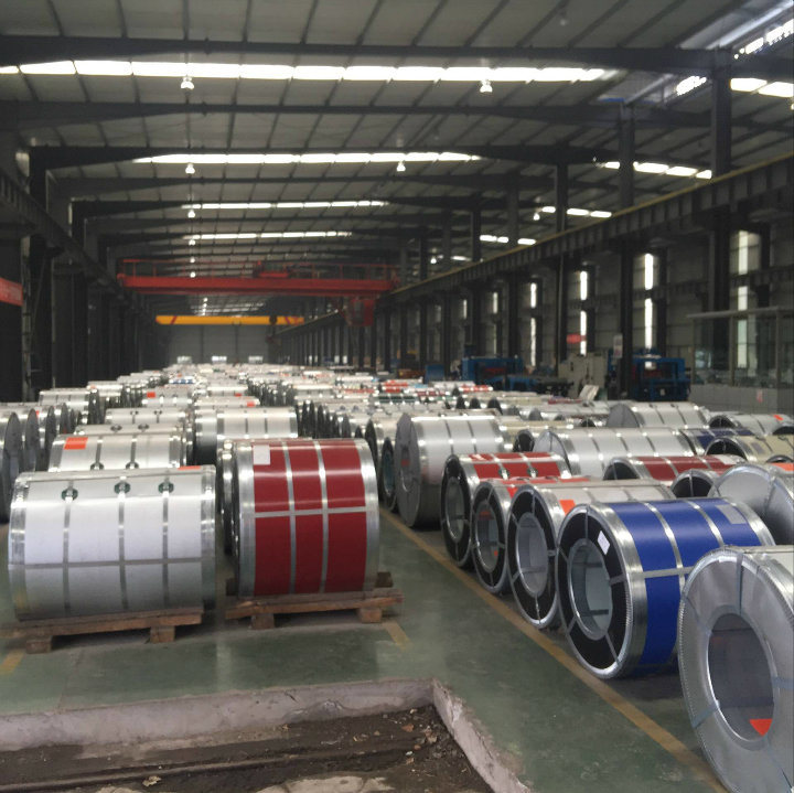 0.14*750mm Corrugated Roofing Sheet Galvanized Steel Coils Metal
