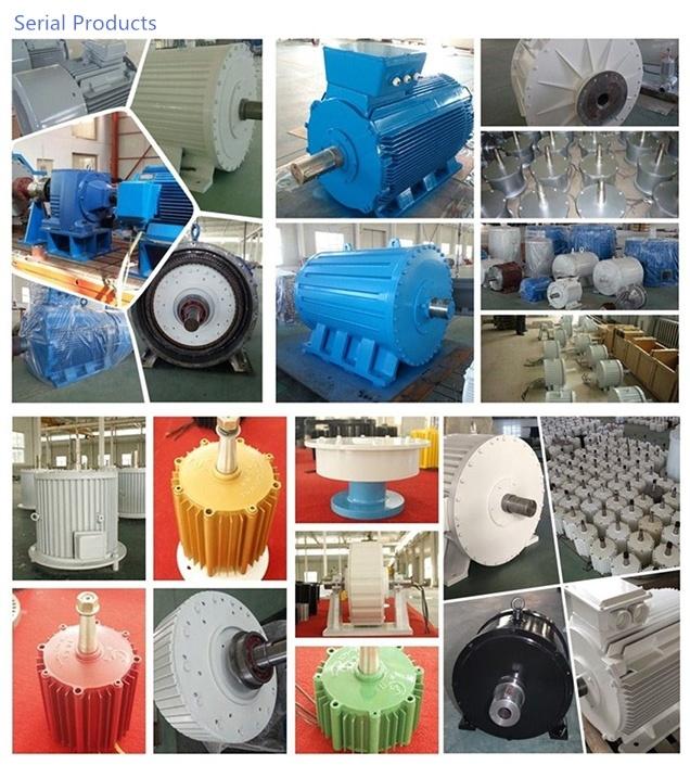 Ff-200kw/350rpm/AC690V Permanent Magnet Generator (PMG/PMA/Hydro)