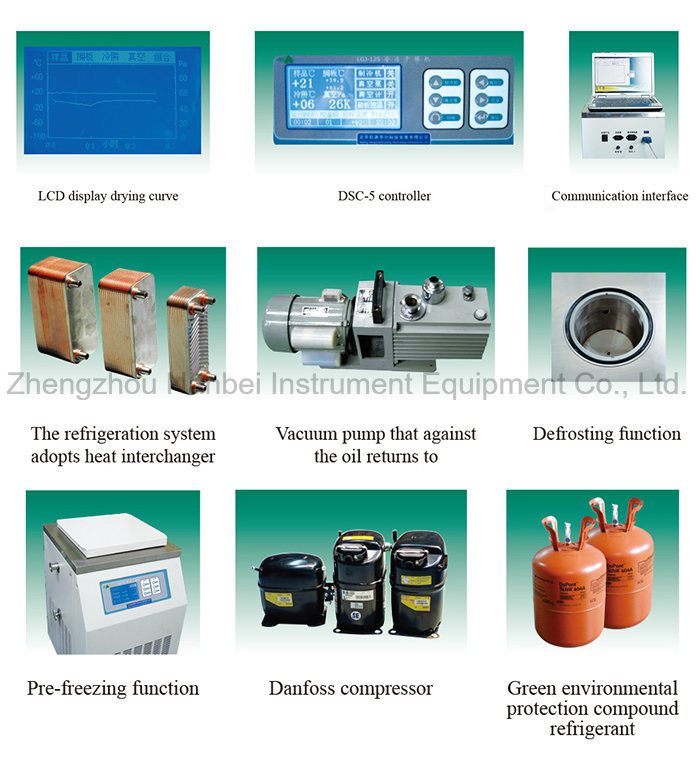 Lab Vacuum Freeze Dryer Machine Lyophilizer Price for Sale