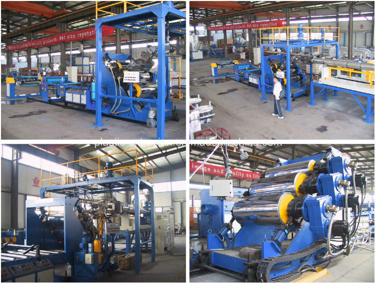 High Performance Pet Film Extruder Extrusion Line