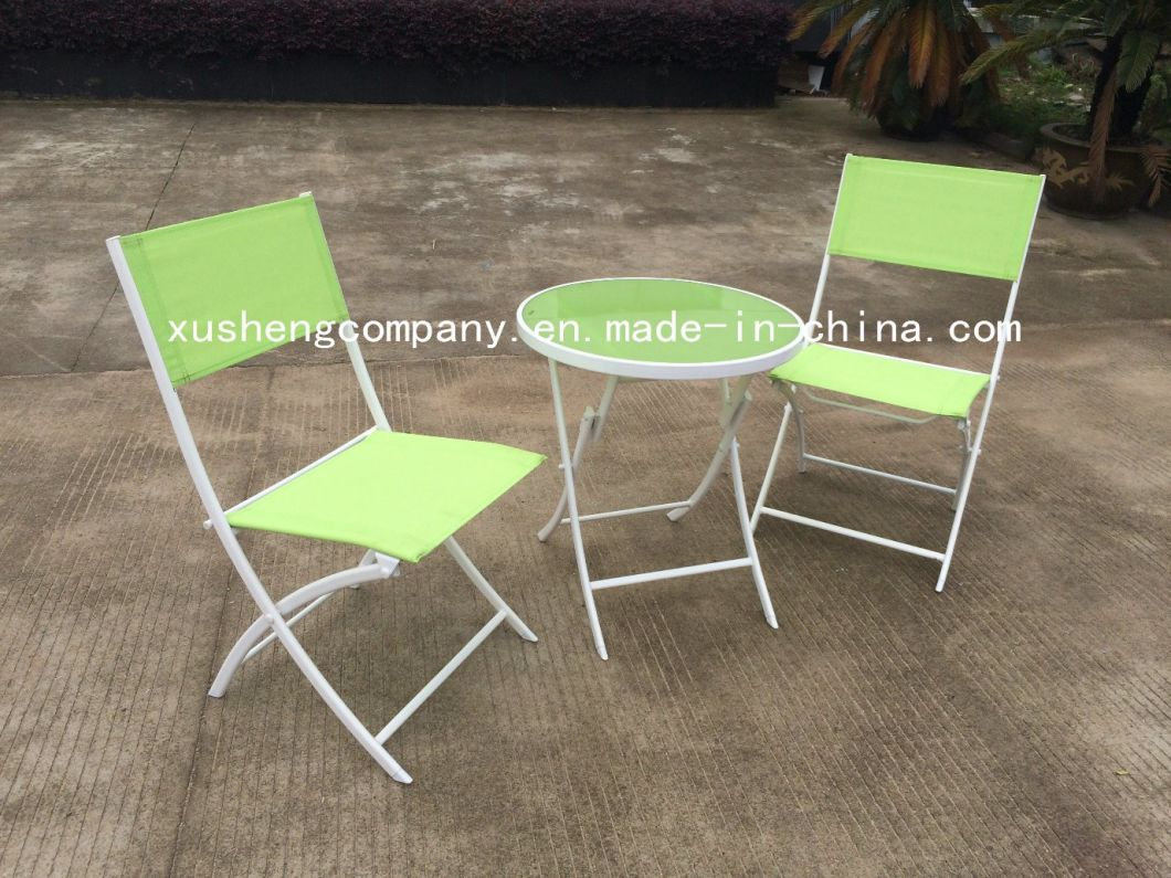 - China Leisure Cafe Beer Outdoor Furniture Powder Spraying Steel