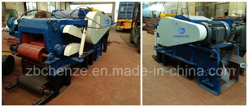 20-25t/H High Efficiency Drum Wood Chipper with Large Capacity