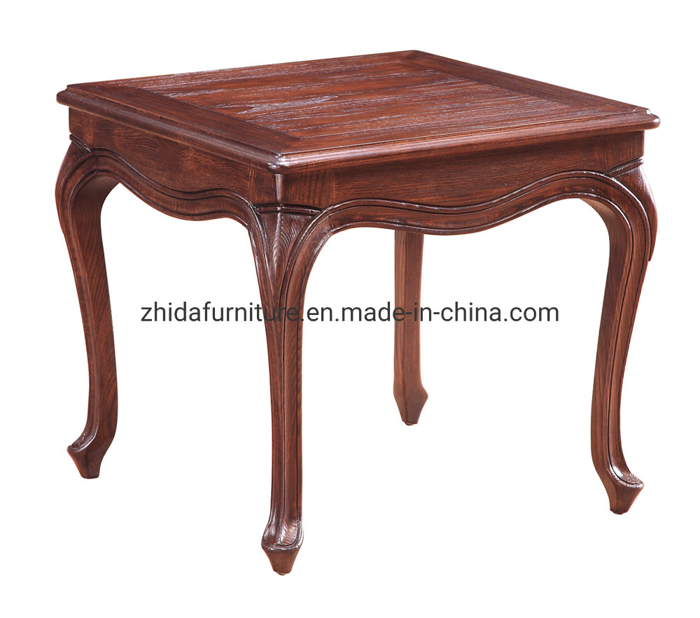 Antique Style Small Sofa Beside Table