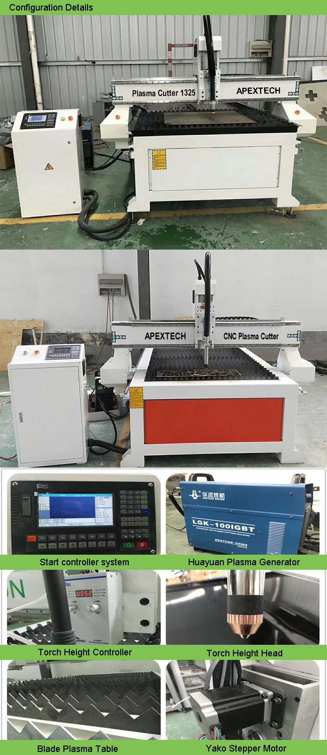 Portable Type CNC Plasma Metal Cutter, Metal Cutting Machines