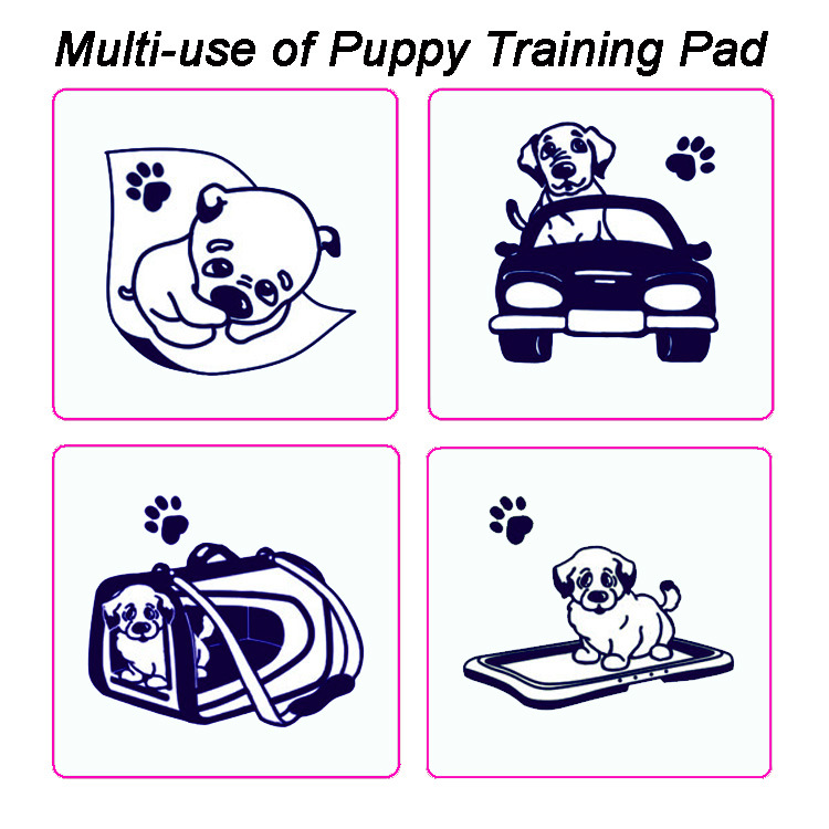 Large Size Super Absorbent Pet Puppy Wee Wee Piddle Pad