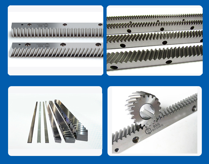 High Density Transmission Gear and Precision Helical Gringding Rack (BHGS5-10)
