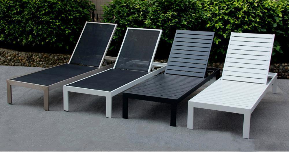 China Outdoor Beach Lounge Chair Wood