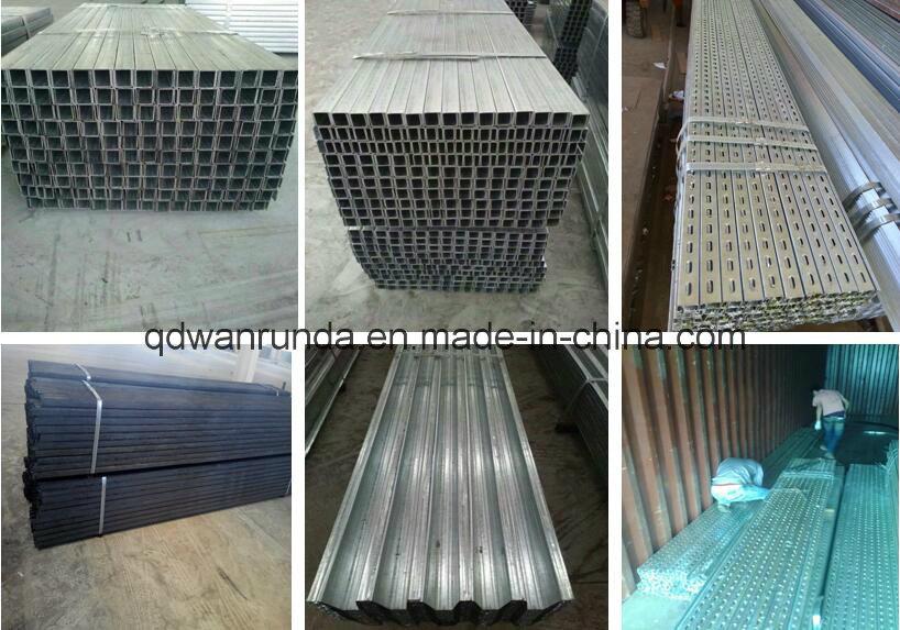 Hot Dipped Galvanized Steel Zinc Coated C/u Shaped Steel