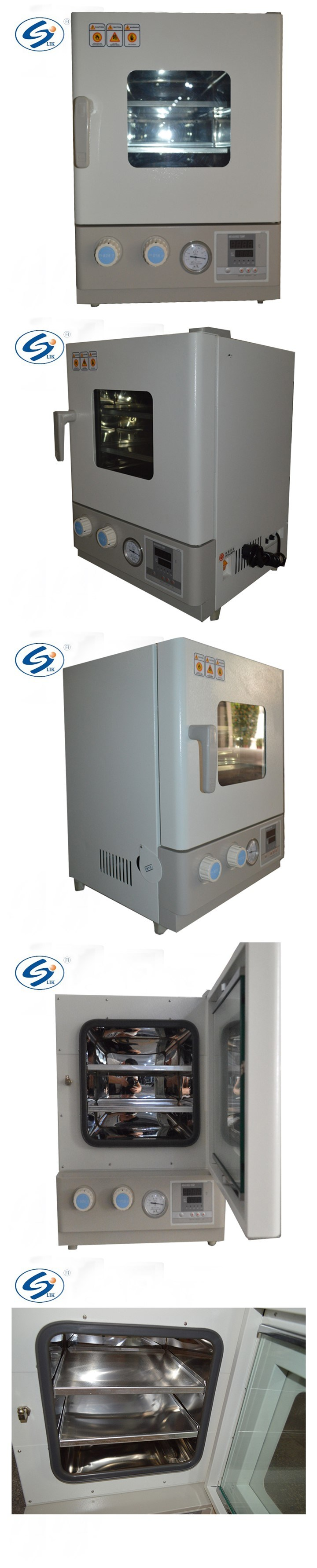 ISO Electronic High Temperature Drying Chamber Vacuum Oven