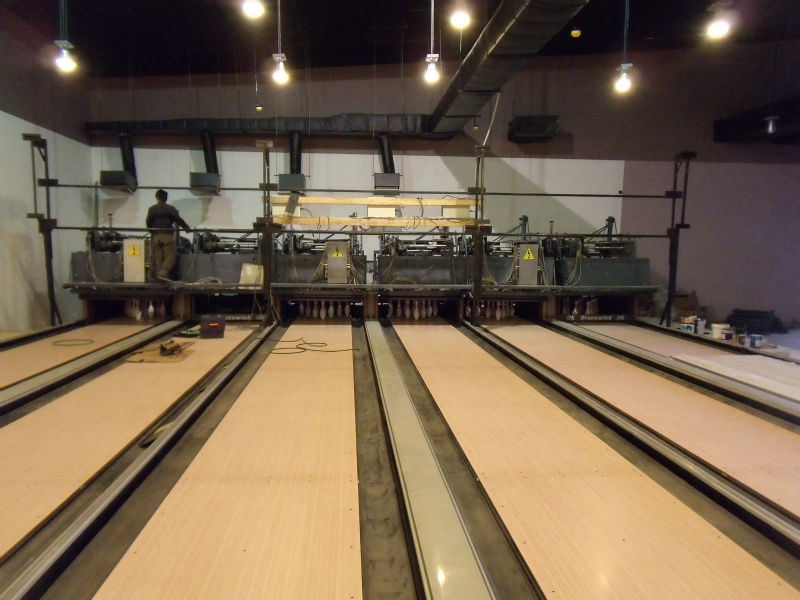 Bowling with Glow-in-dark Synthetic Overlay