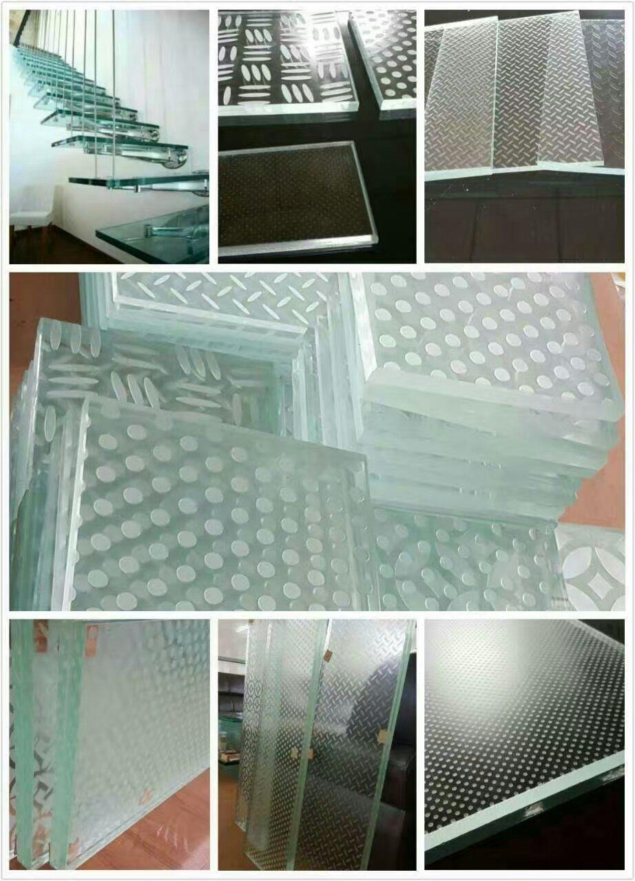 China Laminated Glass Stair Treads Gst 068 China