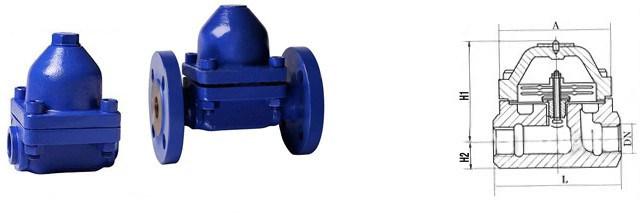 Y Type Gestra Thermostatic Bimetallic Steam Trap
