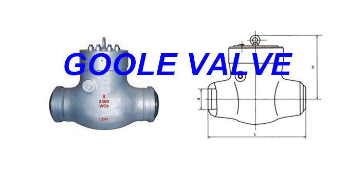 Pressure Seal Power Station Swing Check Valve (GAH64Y)
