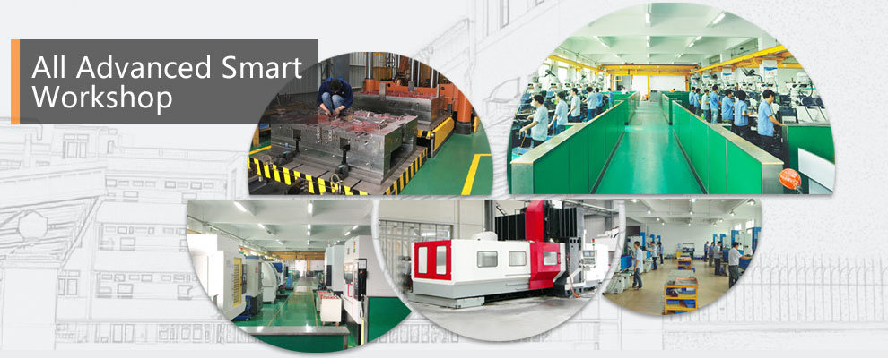 High Precision Two Shot Plastic Injection Molding Overmolding