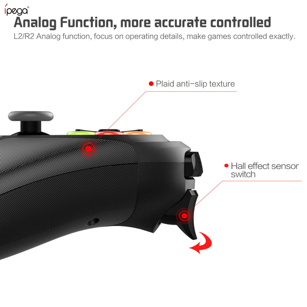 Ipega 9078 Factory Price/Wholesale Bluetooth Wireless Joystick, Gamepad Controller for Android Phone/Tablet/Smart TV/ Windows PC