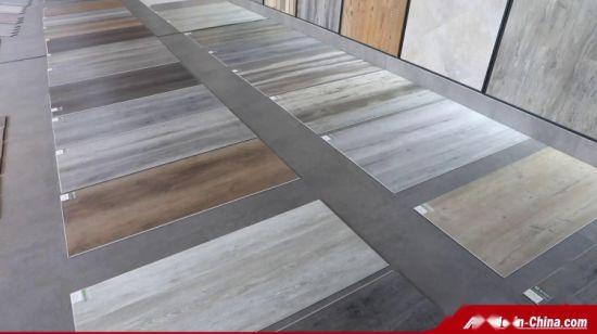 Light Grey Wood Grain Vinyl Plank