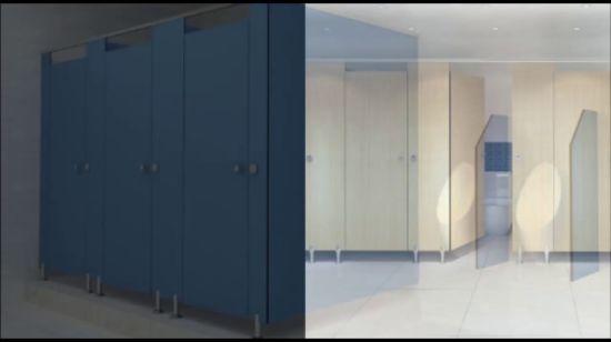 China Moderne Panel-Toiletten-Zelle-Partition der School-HPL ...