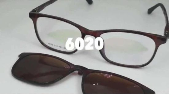 831ac896ef China Fashion Design Custom High Quality Optical Eyewear Polarized Lens Clip-on  Sunglasses Frame for Men Women - China Clip on Sunglasses Frame