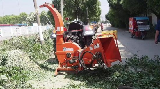 25-120HP Hydraulic Pto Driven Wood Chipper