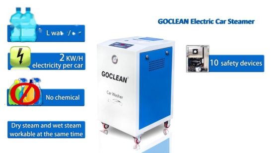 Goclean 4.0 Machine van de Wasmachine van de Auto van de Stoom de Mini