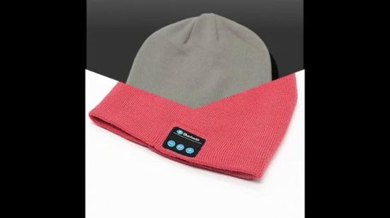 Мода Wireless Bluetooth Музыка Red Hat с наушников Bluetooth