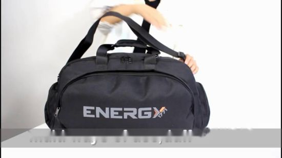 8e90c591ee China Outdoor Travel Large Size Carry-on Duffle Custom Gym Bag with Shoe  Compartment - China Gift Bags, Top Loop Handle Drop