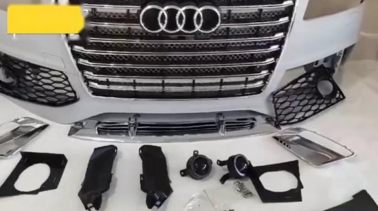 China Body Kits Front Bumper for A8 D4 D5 Aftermarket Parts 2011